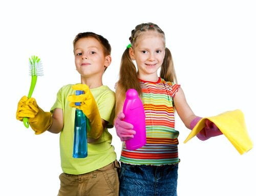 Barn klare for plikter