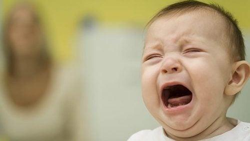 En av de vanligste grunnene til at babyer gråter