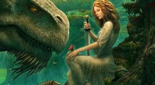 Prinsessen og smaragddragen – et lærerikt eventyr for barna