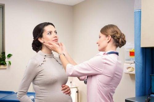 Symptomer på hyperemesis gravidarum