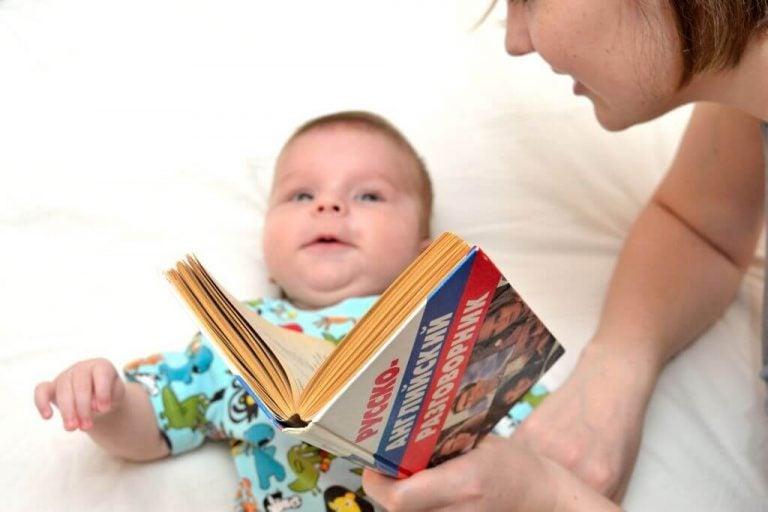 mamma leser for baby