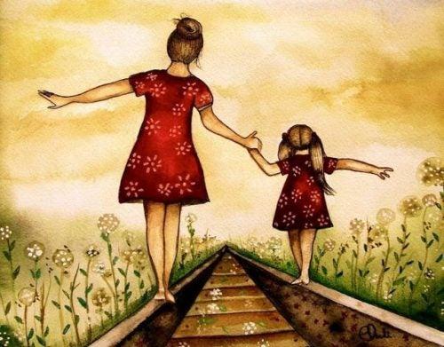 Bli kjent med datteren din