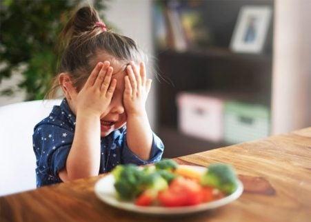 Barnet mitt spiser mindre, bør jeg være bekymret?