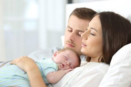 få babyen til å sovne