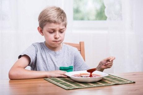 Hva kan man gjøre hvis barna ikke vil spise