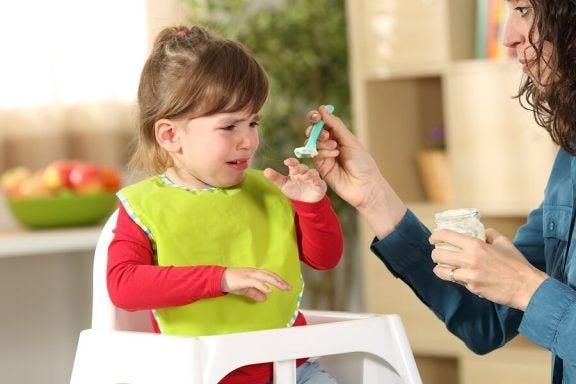 Hva gjør man om barna ikke vil spise?