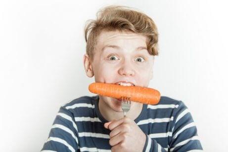 Mat for å styrke barnas immunforsvar