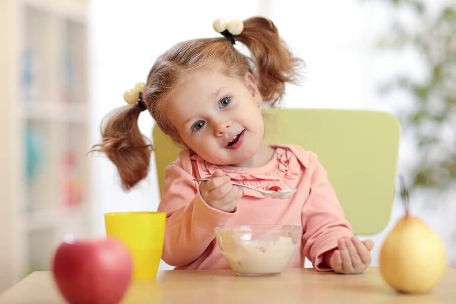 Matvarer for å styrke barnas immunforsvar