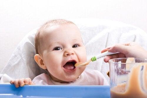 Sunne oppskrifter for 9 til 12 måneder gamle babyer