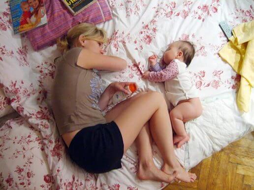 gjøre hvis barnet ikke vil sove alene