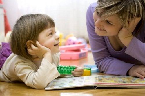 7 taleøvelser for barn med forsinket språkutvikling