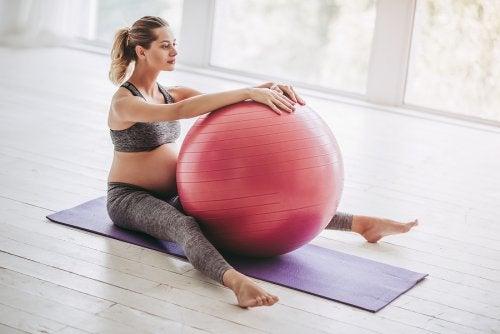 fysisk aktivitet under svangerskapet