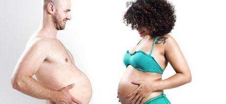 fødselsdepresjon hos menn