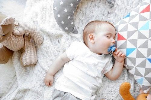 Baby i dyp søvn