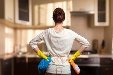 Triks og tips for å holde hjemmet rent