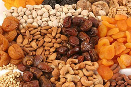 Nøtter og frø er blandt flere matsorter som fremmer fruktbarhet.