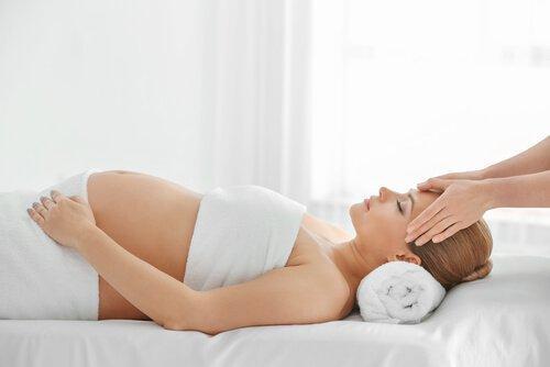 Viktig å slappe av før fødsel