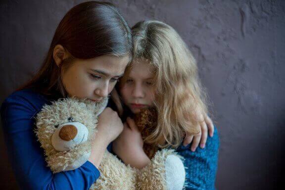 Virkningen vold i hjemmet har på barn