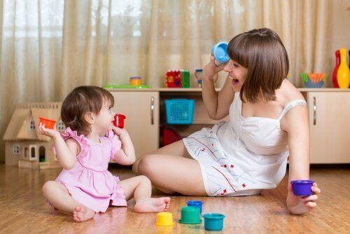 Tidlig stimulering Øvelser for barn