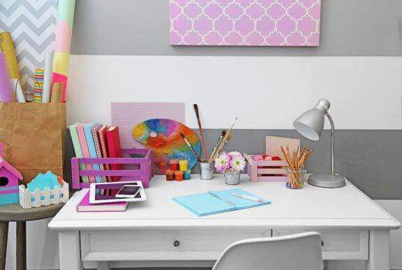 10 flotte måter å forberede barnets skrivebord Du er mamma
