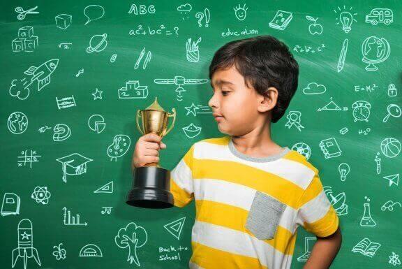Bruk av straff og belønning for skolekarakterer