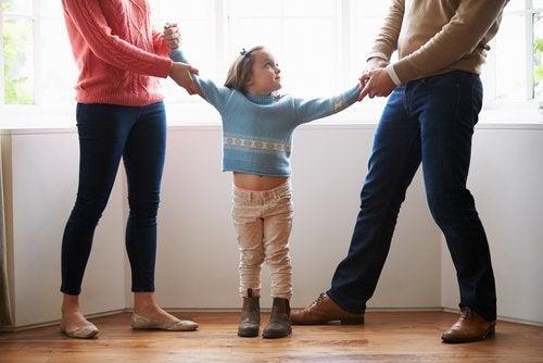 Samværsavtale for separerte foreldre