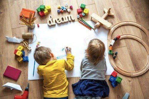 Utviklende aktiviteter for barn i førskolealder