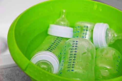Hvordan du skal vaske tåteflasker