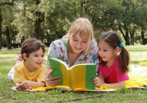 Les sammen med barna dine