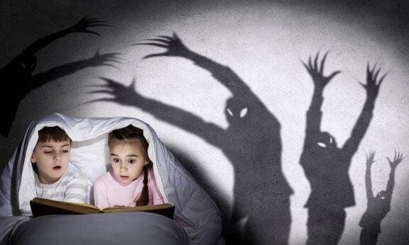Slik forteller du skumle historier til barn