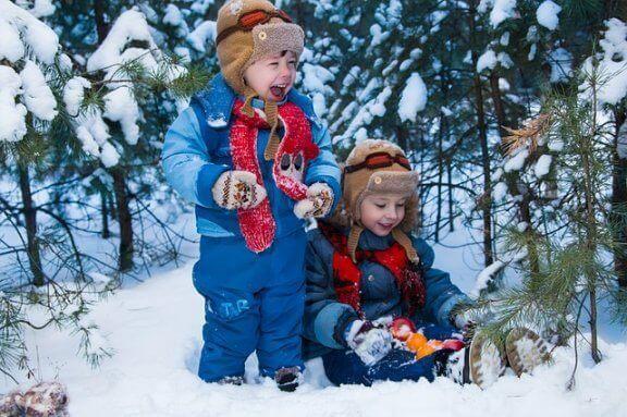 10 snøleker å leke med familien