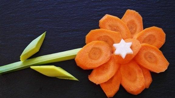 4 oppskrifter for barn som inneholder gulrøtter