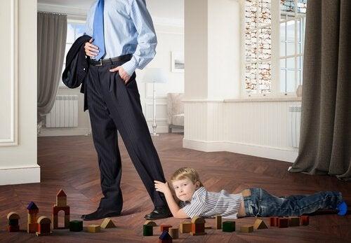 Hvordan mangel på kjærlighet påvirker barn