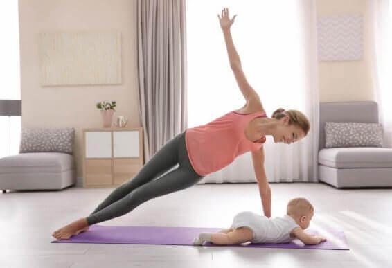 Hvordan kan du best trene etter fødselen?