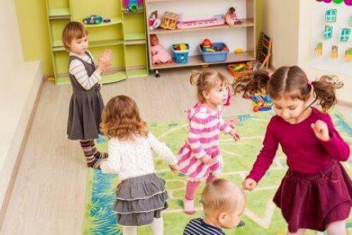 Sosiale evner læres ofte i klasserommet.