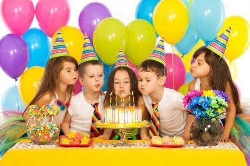 Enkle leker for barnas bursdagsfest