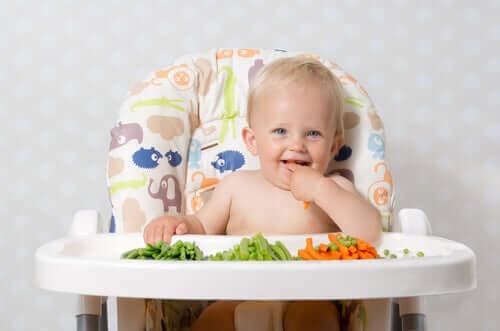 5 retningslinjer for introduksjon av nye matvarer