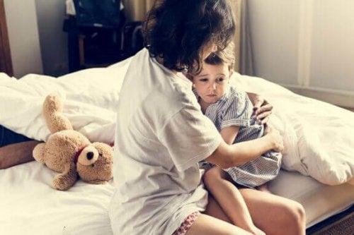 Barna har mareritt, hva kan du som forelder gjøre?