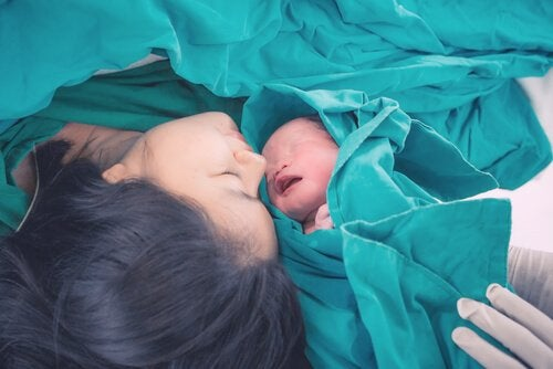 Nyfødt baby