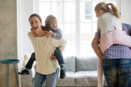 grunnleggende ansvar foreldre har