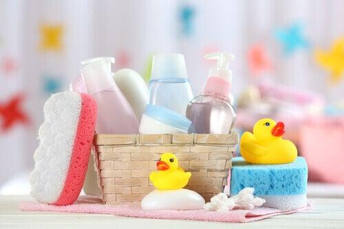 Badeprodukter for barn