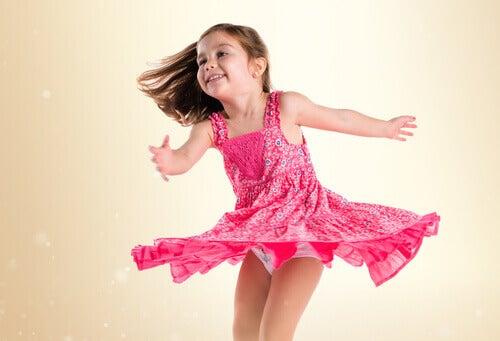 Fordeler med dans for barn