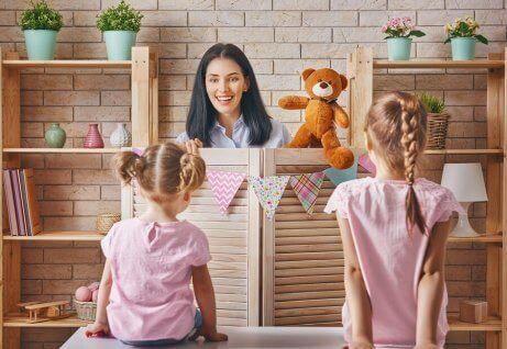 Dukker er flotte for å utløse fantasi og utvikle symbolsk lek