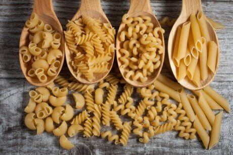tørket pasta