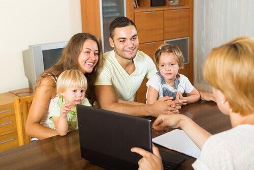 Juridisk representasjon og foreldreansvar