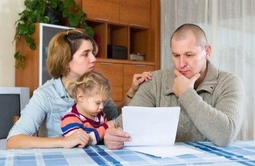 De juridiske aspektene ved barnebidrag