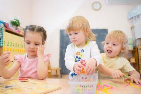 Utviklingen av oppmerksomhet hos barn