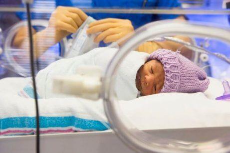 Lavt antall nøytrrofiler hos babyer