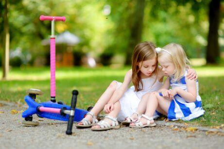 Barn utvikler sosial intelligens mens de leker
