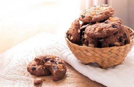 Glutenfrie sjokoladecookies er enklere enn de ser ut til